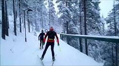Levi Skiing 2017 + Snapchat videos