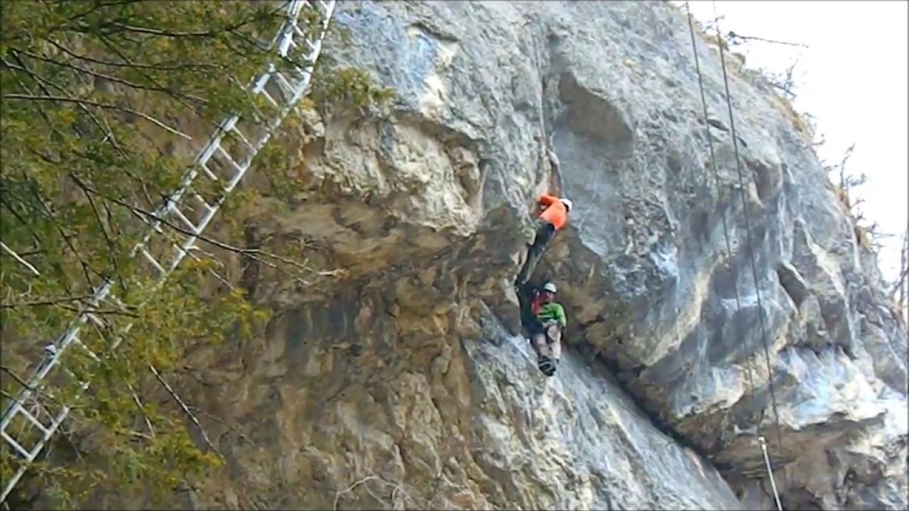 Klettersteig Odenwald : Trattenbach beisteinmauer klettersteig park youtube
