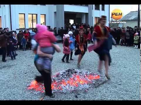 Национальный армянский праздник терендез