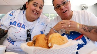 PUERTORICAN VACATION 2019VLOG 4: EATING THE BEST DUMPLING, ICE CREAM, DOWNTOWN PONCE