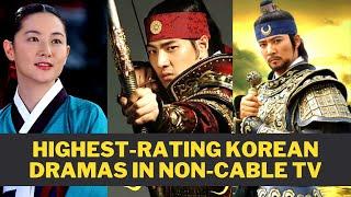 20 Highest-Rating Korean Dramas In Free TV (Updated 2020)