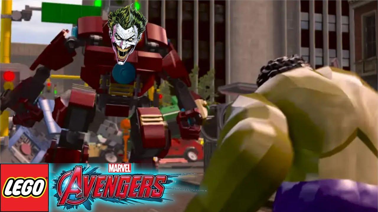 ANGER MANAGEMENT   Joker Plays: LEGO Marvel's Avengers #9