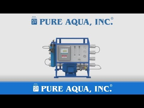 Commercial Seawater Reverse Osmosis Desalination Systems | Made in USA by Pure Aqua, Inc.