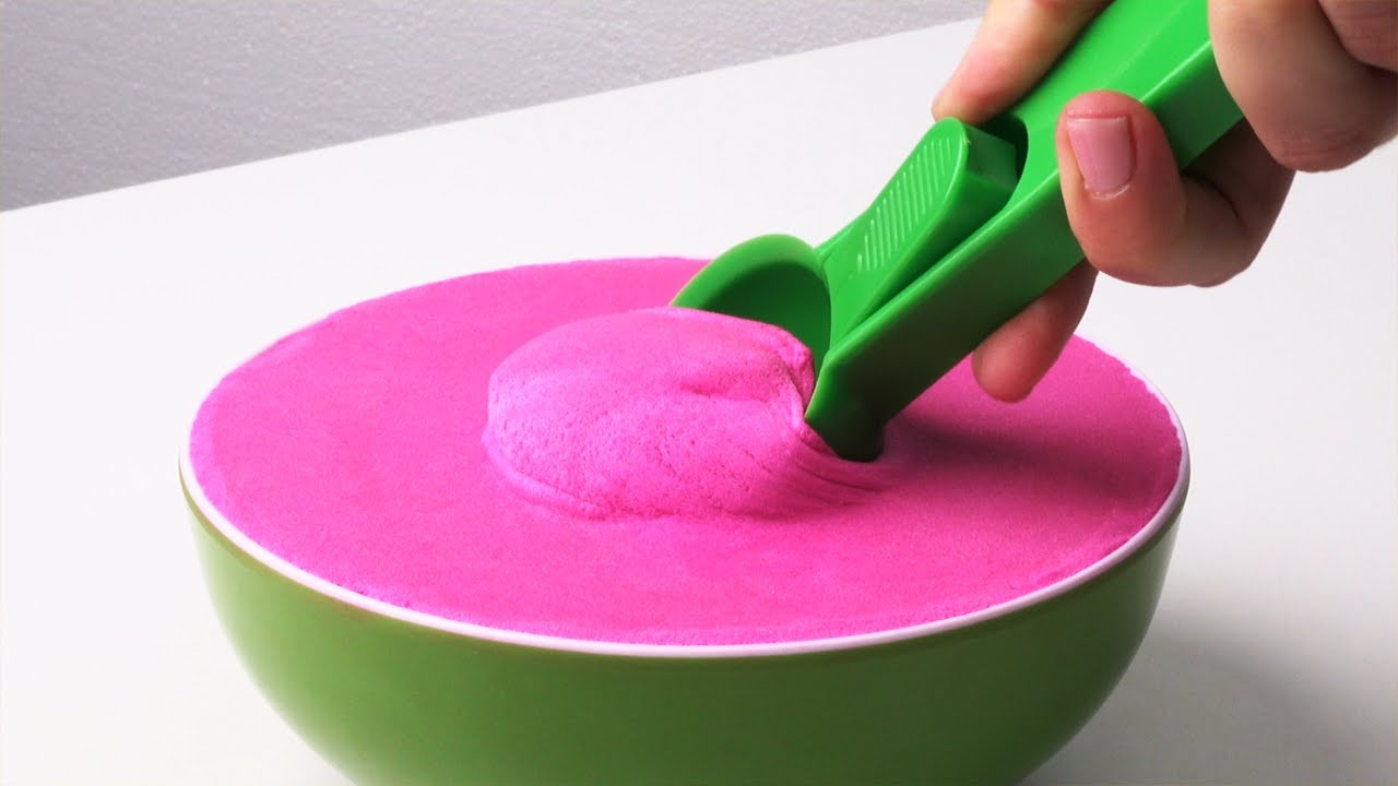 Satisfying and Relaxing ASMR Kinetic Sand | Official Play-Doh How-To Videos