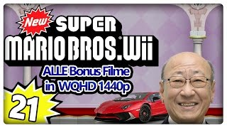 NEW SUPER MARIO BROS. Wii Part 21: Alle Bonusfilme in HD und in voller Länge [ENDE]