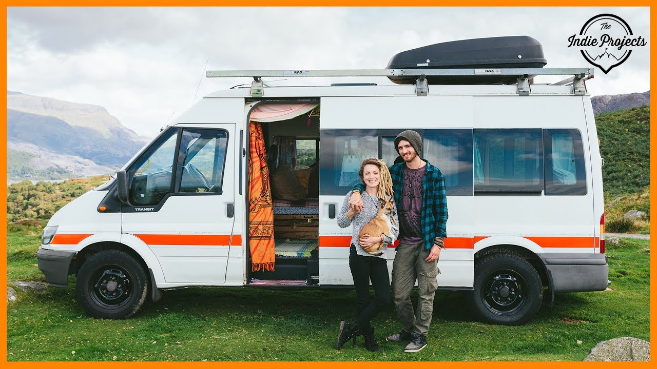 Van Conversion On A Budget With Wood Burner