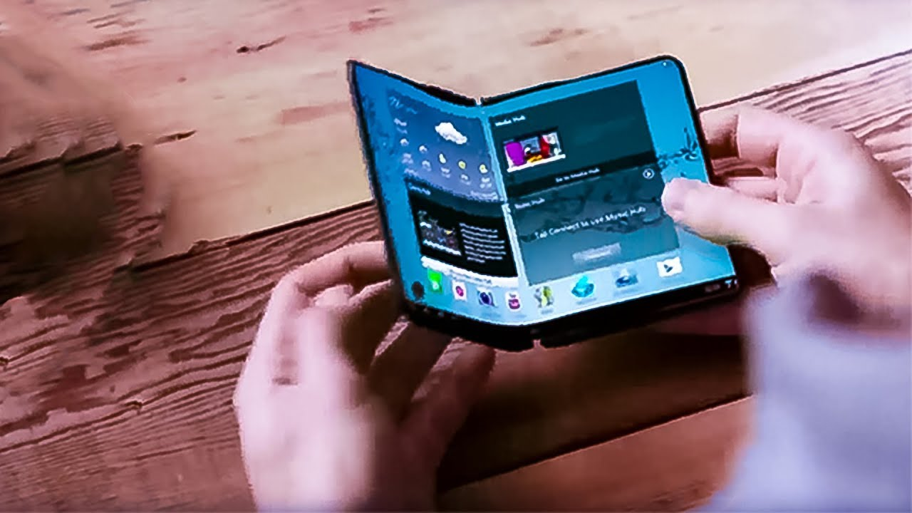 "Samsung Galaxy X ""Folding Smartphone"" Gets Leaked"
