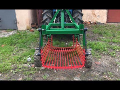 Как самому сделать картофелекопалку для трактора