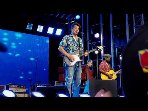 John Mayer - Slow Dancing In A Burning Room - Live On Jimmy Kimmel