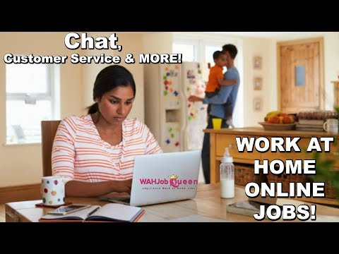 HIGH PAYING - CHAT, CUSTOMER SERVICE & MORE - WORK AT HOME/ONLINE JOBS!