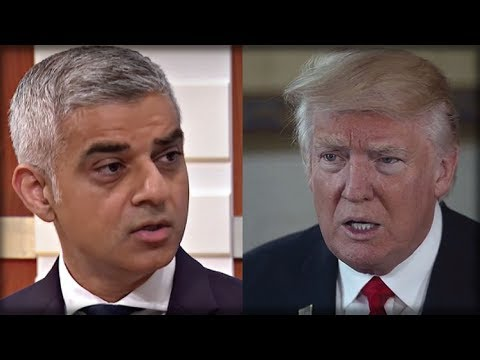 WAR READY: London's Mayor Just Insulted Trump, So Trump Pulled Out His Secret Weapon
