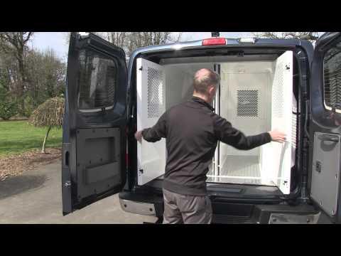 Nissan NV3500 Prisoner Transport Vehicle Installation