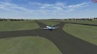 Microsoft Flight Simulator X VOO DE SÃO PAULO X RIO DE JANEIRO   SBGR -- SBGL  BOEING 737-800