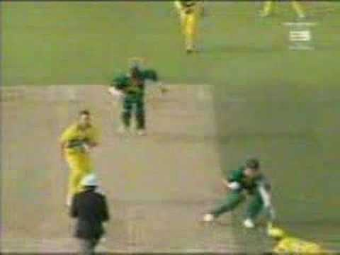 THAT Run Out In The 1999 World Cup - Alan Donald & Lance Klusener