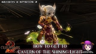 ★ Guild Wars 2 ★ - How to get to Cavern of the Shining Light (for The Waypoint Conundrum)