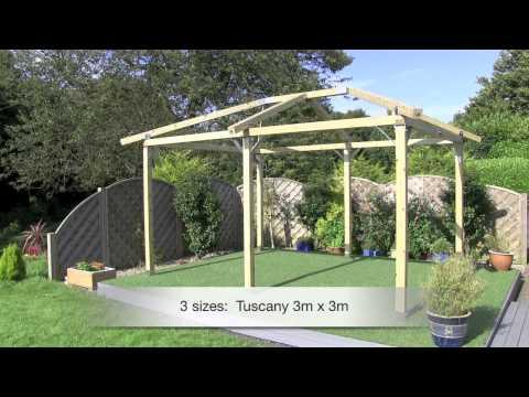 How to Build a Gazebo   White Pavilion Gazebos