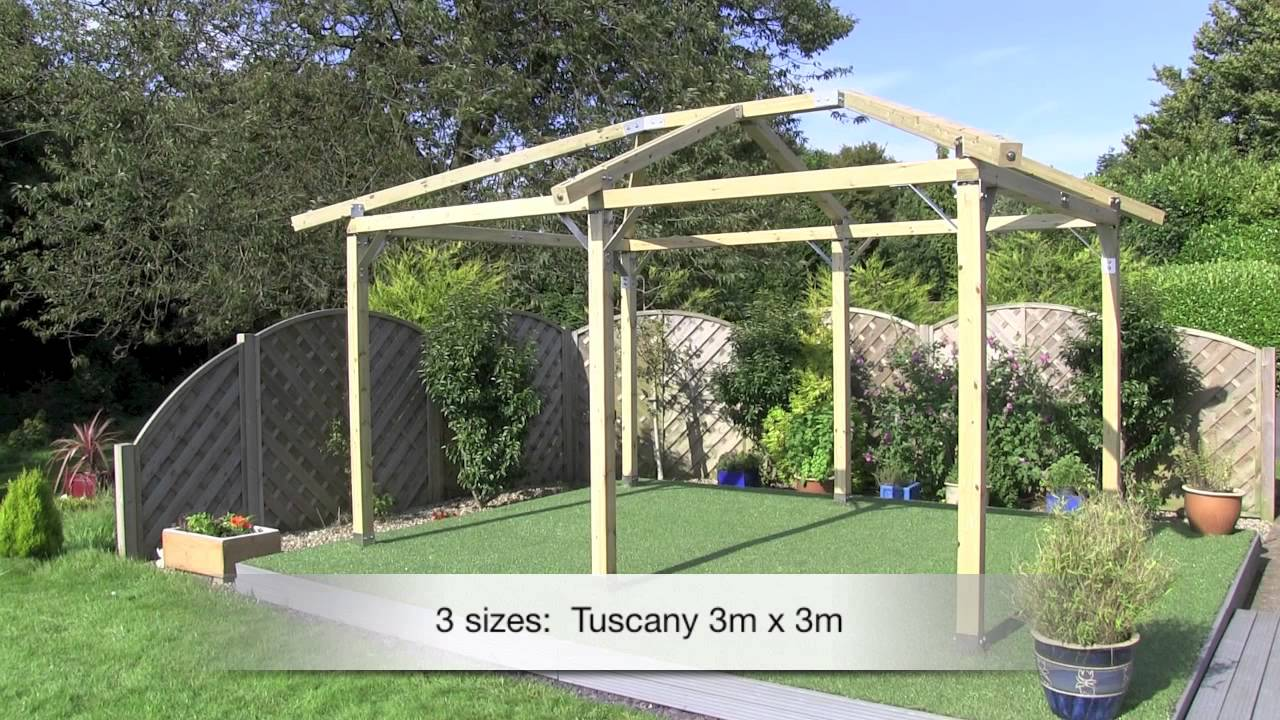 How to make a gazebo of wood and not only 20