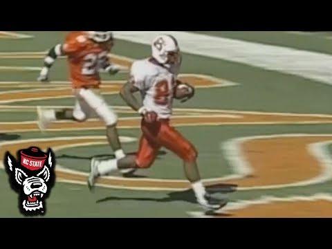 NC State Legend Torry Holt Scores 4 TD vs. Clemson   20th Anniversary