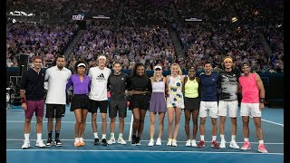Federer, Kyrgios & More Star In Rally For Relief   Australian Open 2020
