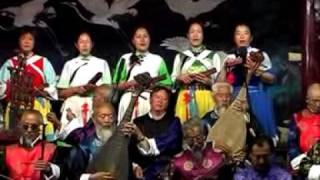 Ancient traditional Naxi music from LiJiang YunNan China纳西古乐