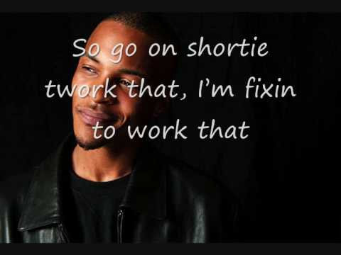 T.I ft the Dream - Like I do (lyrics)