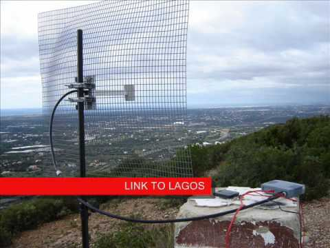 Wireless Link 76 Km Youtube