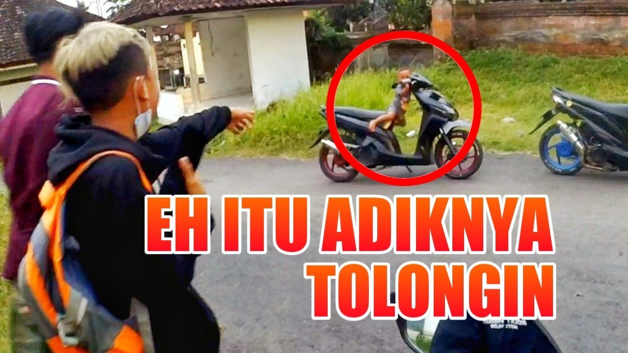BOCIL BARBAR BAWA EMBER GLEDEK TRONDOL - MONYET NGAMUK MINTA MAKANAN !!! | Motovlog Indonesia