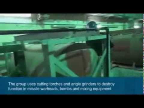 UN Chemical Weapons Experts Destroy Equipment In Syria - 10th October 2013