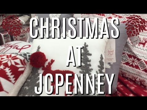 CHRISTMAS AT JCPENNEY | SHOP WITH ME