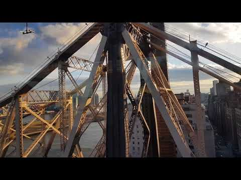 NYC Cable car ride to Roosevelt Island #Manhattan 02.02.2018