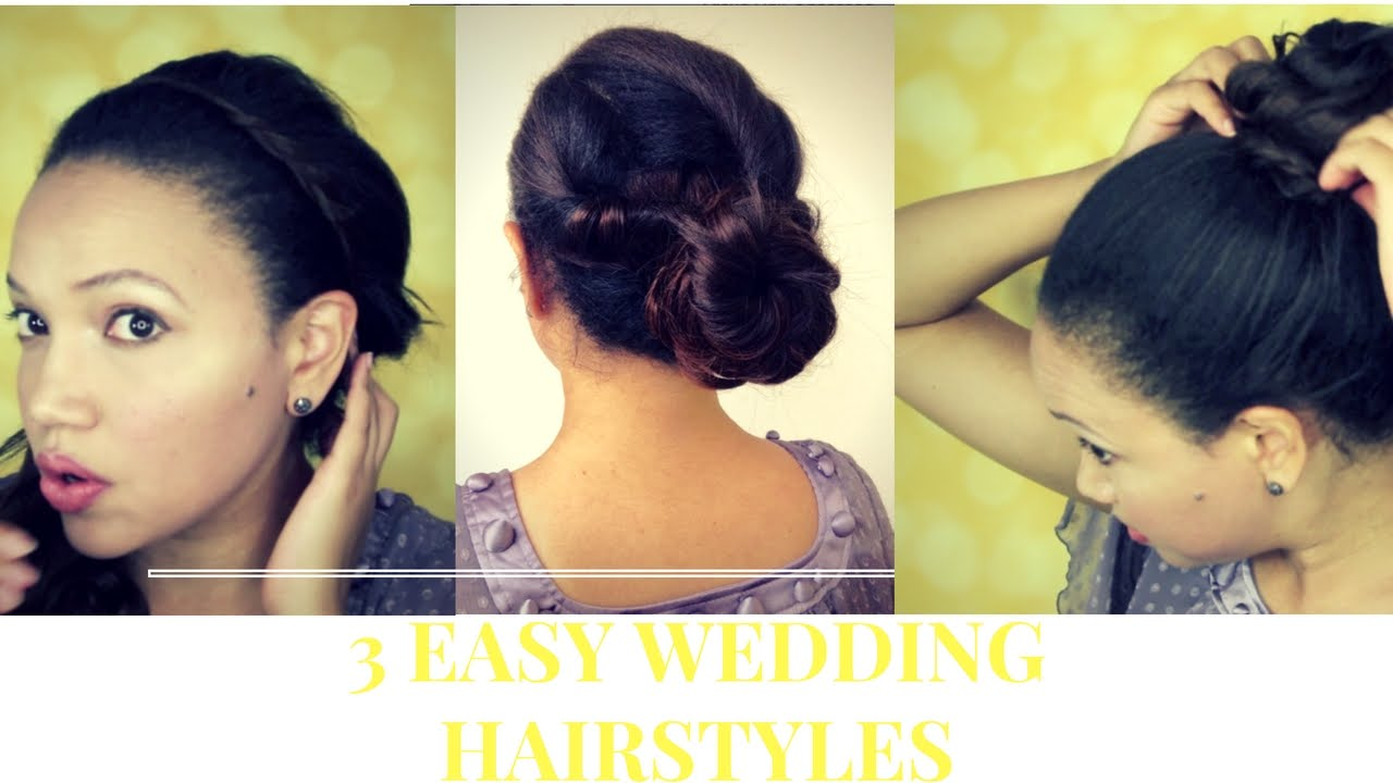 3 easy wedding hairstyles in 9 minutes clip in hair extensions 3 easy wedding hairstyles in 9 minutes clip in hair extensions pmusecretfo Choice Image