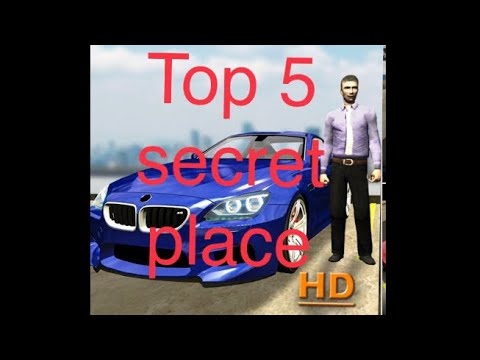 Download #carparkingmultiplayer Top 5 hidden and un discovered place in car parking multiplayer