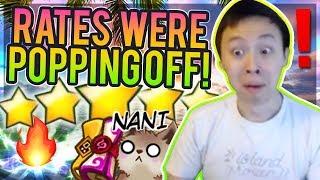 NAT 5s & Lightning JUST DONT STOP! - NAT 5 Pulls! / Gameshow! - Summoners War