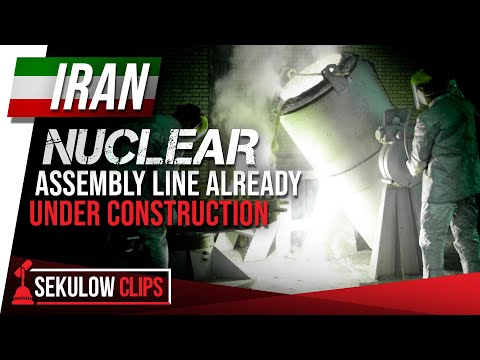 Iran Nuclear Assembly Line Already Under Construction