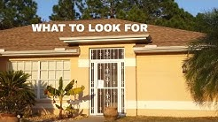 When Buying A House In Florida * What To Look For