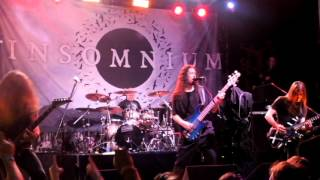 Insomnium - Every Hour Wounds (Live) The Tree  Joliet, IL 8/17/15