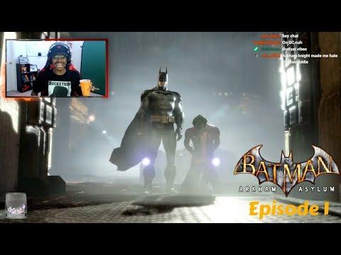 My first Time Playing Batman: Arkham Asylum | Episode 1 |