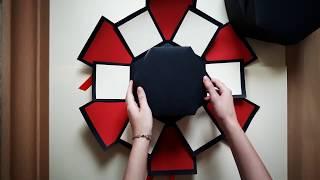 Sevgiliye Hediye - Patlayan Kutu , Exploding Box / Anı Defteri / Evlilik Teklifi ( El Emeği )