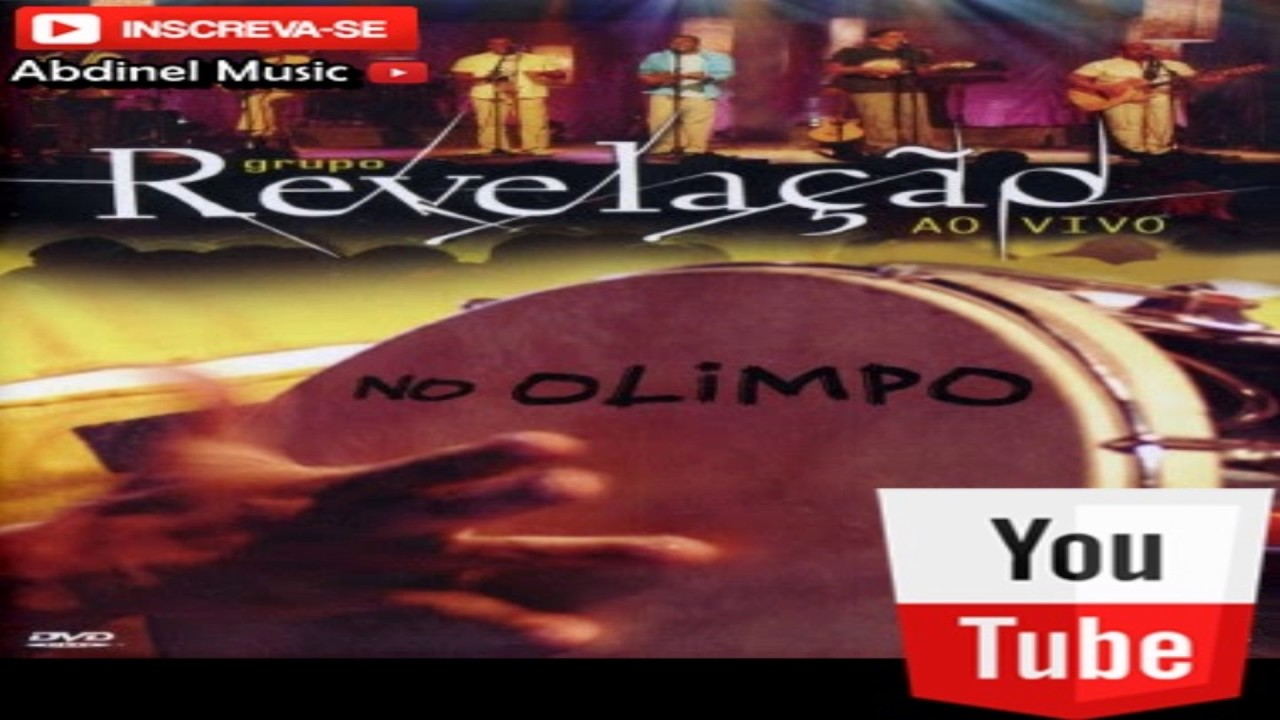cd revelao ao vivo no olimpo audio dvd