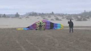 Infinity - Flying in Sand, desert and beach