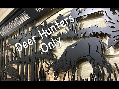 Cnc Plasma Metal Art Wildlife Scene Deer Turkey Wall Decor Dallas Tx 75201