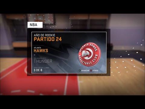 Atlanta Hawks - Oklahoma City Thunder | Mi carrera NBA16