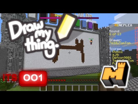Mineplex draw my thing in minecraft youtube