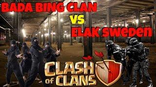 Bada Bing Clan vs ELAK sweden   Clash of Clans   How to use Hogs in WAR