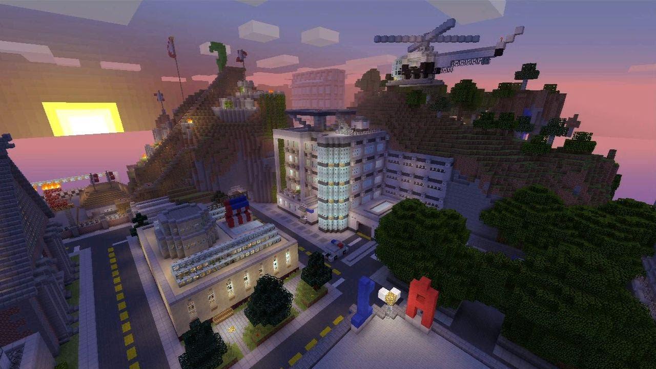 The Minecraft World Tour