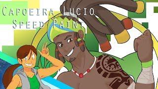 Capoeira Lucio【SpeedPaint】