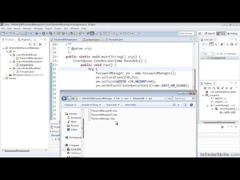 Eclipse Java IDE Tutorial   Project Folder Structure