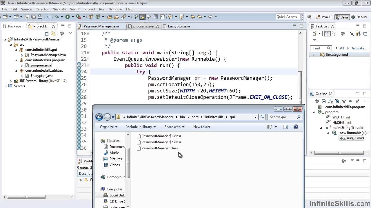 Eclipse Java IDE Tutorial | Project Folder Structure