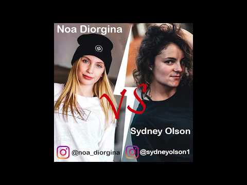 Parkour And Freerunning 2019 Sydney Olson Vs Noa Diorgina Instargram Compilation #01