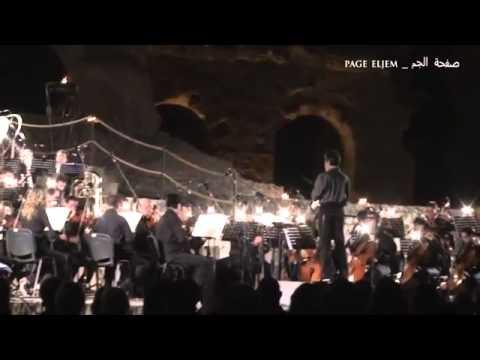 ORCHESTRE SYMPHONIQUE DE ROME ....AU FESTIVAL symphonique  D'ELJEM ..TUNISIE